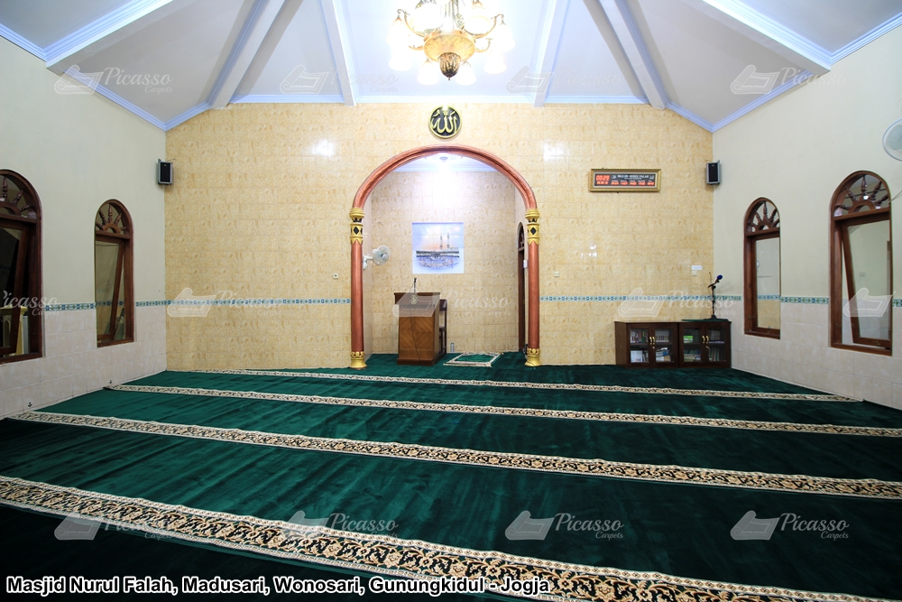 Karpet Masjid Nurul Falah, Gunung Kidul Jogja