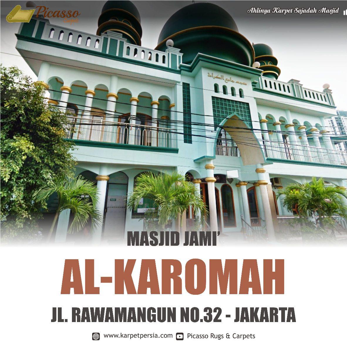 karpet masjid jakarta