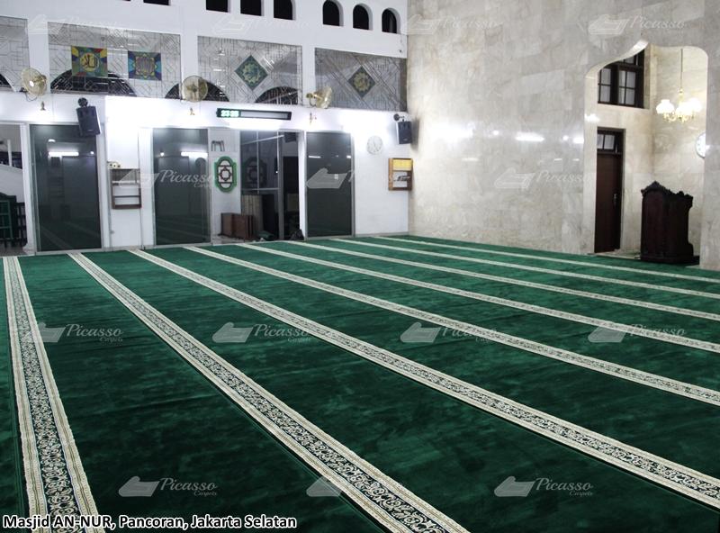 Karpet Masjid An-Nur Perdatam Raya Pancoran