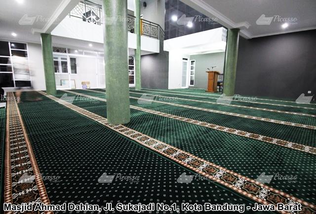 Karpet Masjid Ahmad Dahlan Jl. Sukajadi No. 1 Bandung