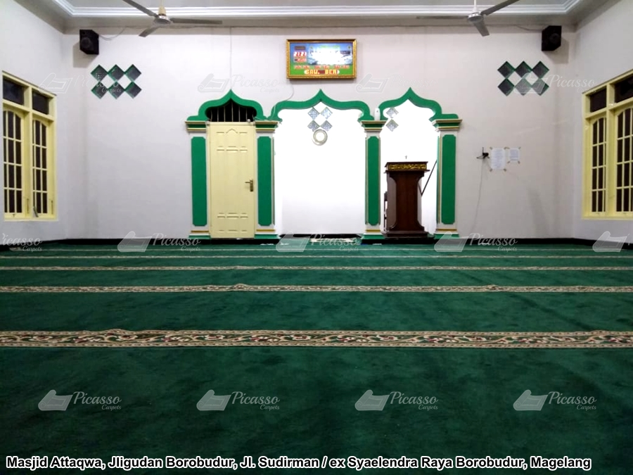 Karpet Masjid Attaqwa Jligudan Borobudur – Magelang