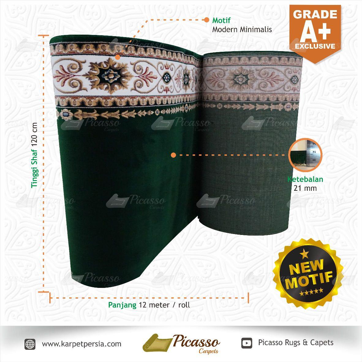 Karpet Masjid Grade A+ Exclusive