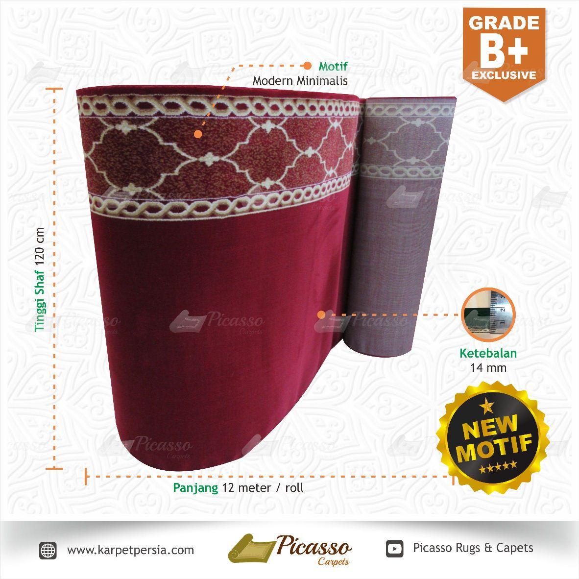 Karpet Masjid Grade B + Exclusive