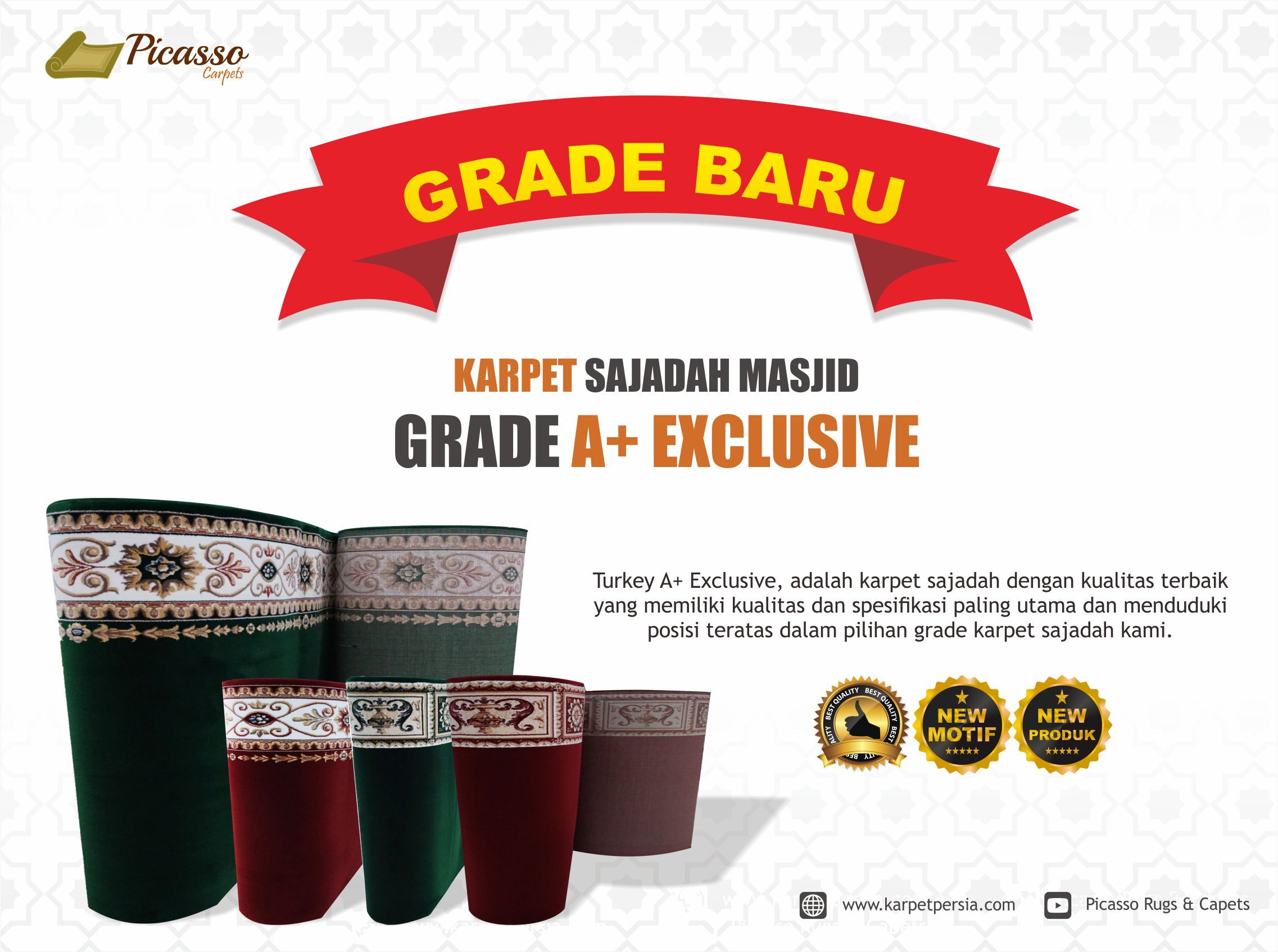 Karpet Masjid A+ Exclusive