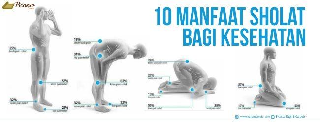 10 Manfaat Sholat Bagi Kesehatan
