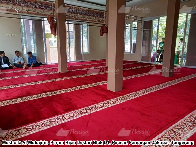 Karpet Masjid Musholla Al-Muhajirin, Panongan, Cikupa - T (7)