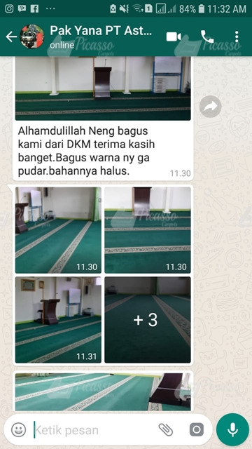 karpet masjid PT ASTOM