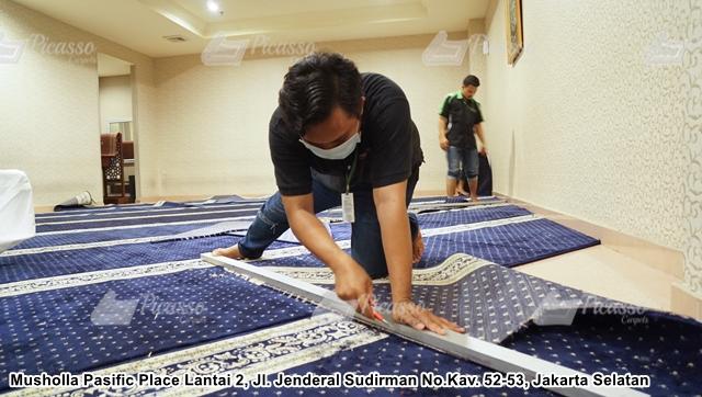 karpet masjid mall pacific place jakarta