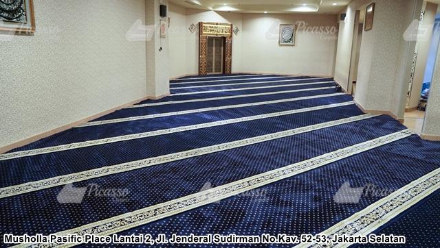 Karpet Masjid Pacific Place Mall Jakarta