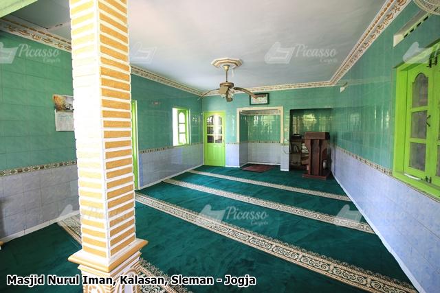 Karpet Masjid Hijau Kalasan Sleman