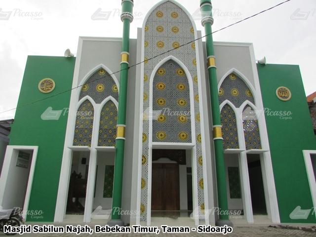 Karpet Masjid Sabilun Najah, Taman, Sidoarjo