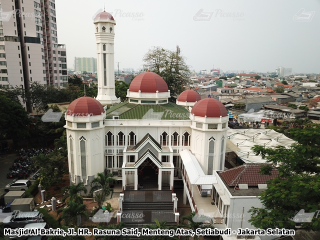 Masjid Al Bakrie Taman Rasuna Kuningan Jakarta