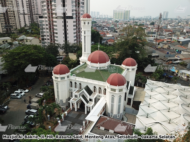 Karpet Masjid Al-Bakrie Taman Rasuna Kuningan Jakarta