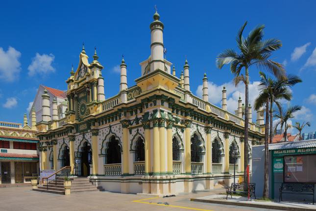 5 Masjid Terbesar di Singapura masjid abdul gafoor