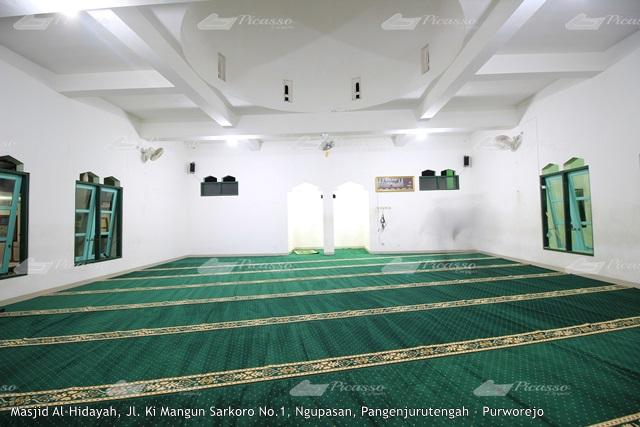 Karpet Masjid Al-Hidayah SMA 7 Purworejo