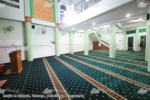karpet masjid hijau umbulharjo jogja