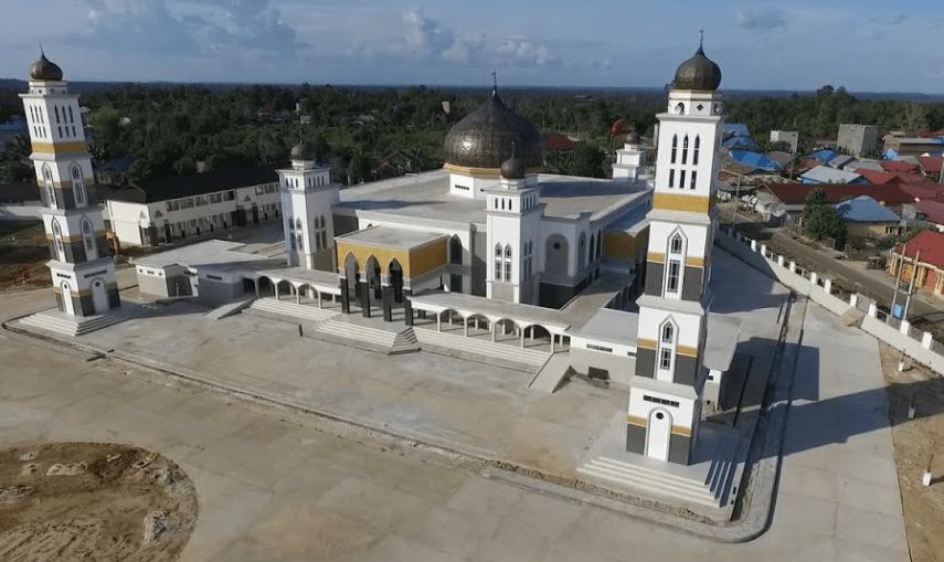 Karpet Masjid Islamic Center Melak Kutai Barat
