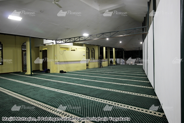 Karpet Masjid Muttaqien Pasar Beringharjo Jogja Jilid II