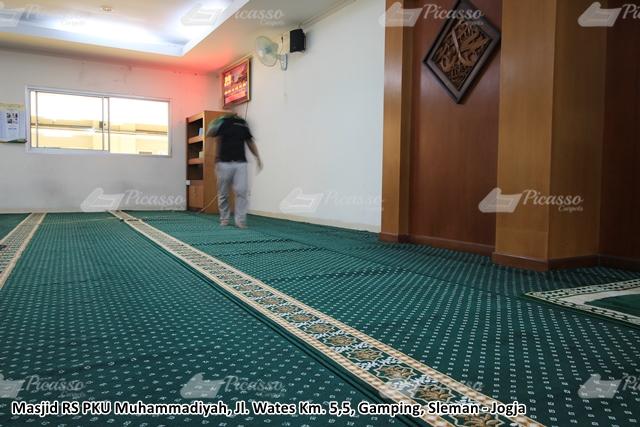 karpet masjid rs pku sleman jogja