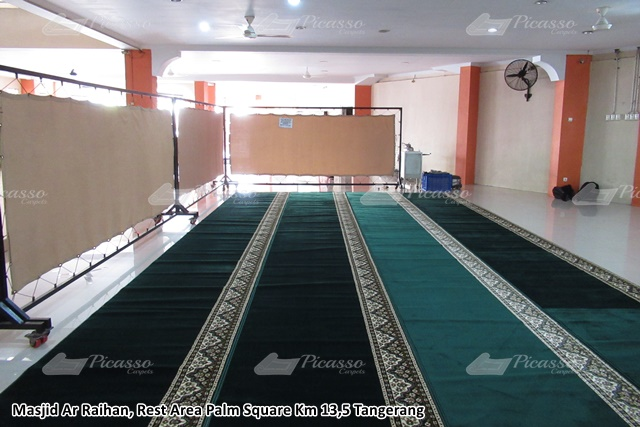 harga karpet masjid tangerang 2020