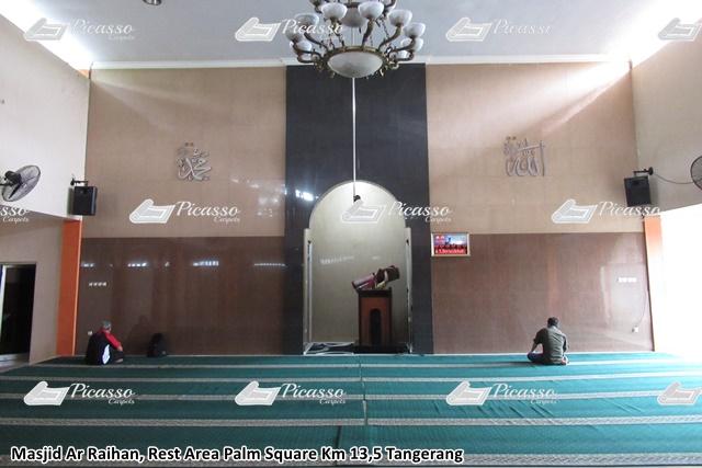 Karpet Masjid Ar-Raihan Rest Area Palm Square Tangerang