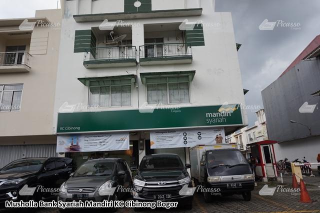 Karpet Masjid di Musholla Bank Syariah Mandiri KC Cibinong Bogor