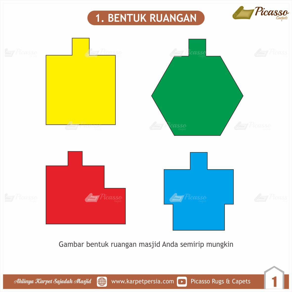 Tips Menggambar Layout Musholla Rumah Agar Karpet Sajadah Terpasang Rapi (1)