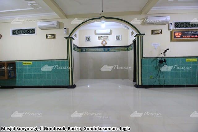 karpet masjid sonyoragi jogja