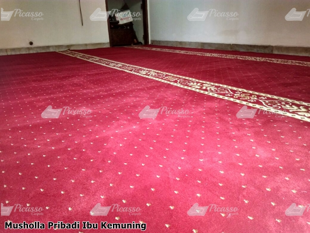 Karpet Sajadah Musholla Rumah Ibu Kemuning Jakarta Selatan