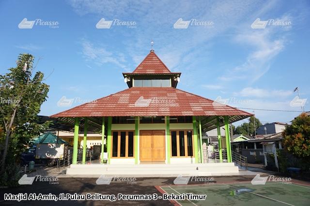 Karpet Masjid Al-Amin Jl Pulau Belitung Perumnas 3 Bekasi Timur