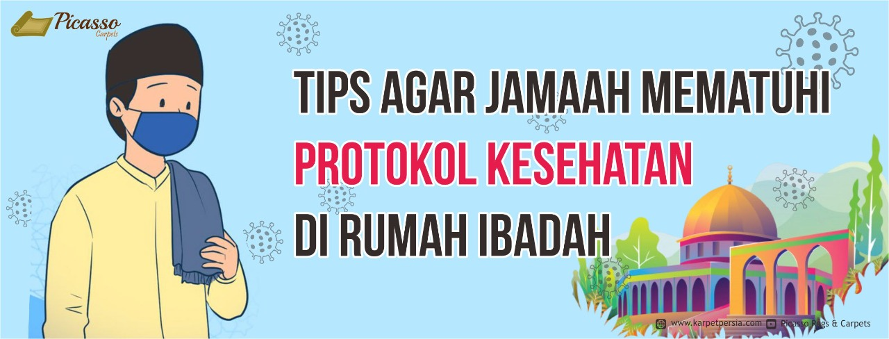 Tips Agar Jamaah Mematuhi Protokol Kesehatan Di Masjid