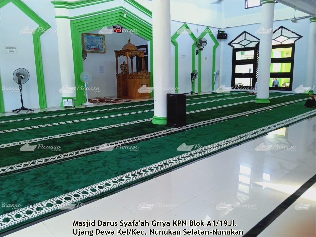 karpet masjid darussyafaah nunukan selatan (1)
