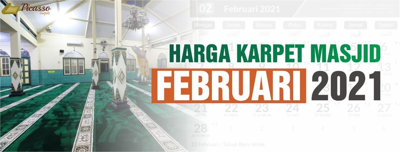 harga karpet masjid februari 2021